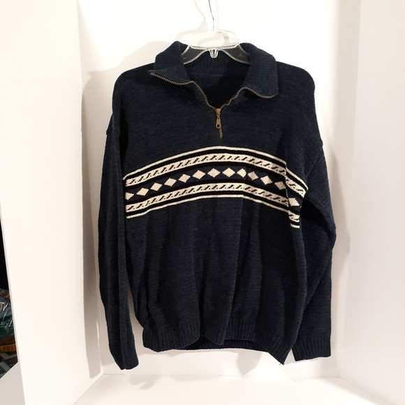 unknown Other - Men's wool sweater L/S very warm